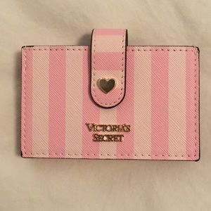 💝Victoria's Secret pink bag wallet💝
